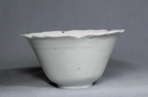 古伊万里白磁猪口(202)   江戸時代中期