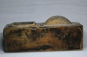 木彫墨壺(12)   江戸時代