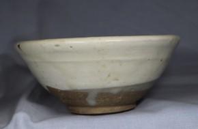 中国磁州窯鉄絵茶碗   明時代