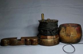 木彫墨壺(13)   中国清朝時代