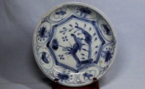 初期伊万里芙蓉手小皿(1)   江戸時代初期