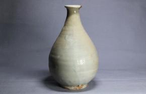 李朝徳利(10) 堅手  李朝時代初期