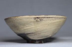 鶏龍山刷毛目酒盃   李朝時代前期