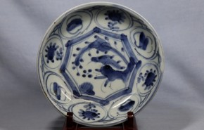 初期伊万里芙蓉手小皿(4)   江戸時代初期