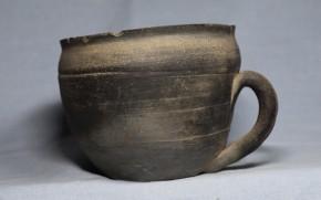 須恵器把手付碗   4~5世紀   百済時代