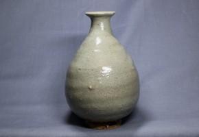 李朝徳利(5) 井戸釉  李朝時代前期