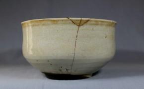 李朝鬼熊川茶碗   李朝時代中期