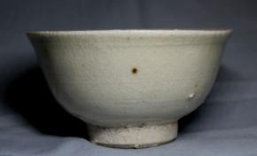 中国灰釉小碗   明朝時代