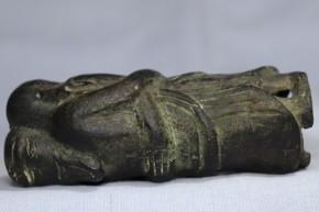 白銅製歓喜天像(1-1)   室町時代