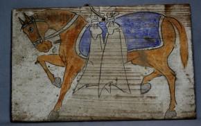 彩色板絵馬(1)   江戸~明治時代