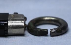 鍍銀製銀環(2)   古墳時代