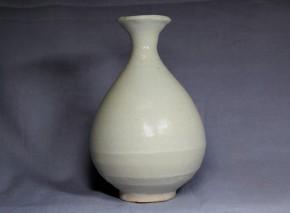 李朝徳利(7) 白磁  李朝時代初期