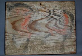 彩色板絵馬(2)   江戸時代