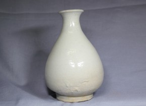 李朝徳利(6) 白磁 李朝時代前期~中期