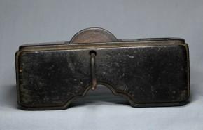 木彫墨壺(8)   江戸時代中期