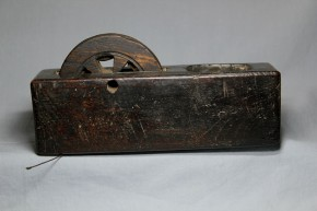 木彫墨壺(9)   江戸時代