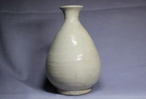 李朝徳利(14) 白磁   李朝時代後期