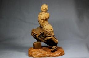 木彫広目天立像(1)   鎌倉時代