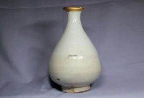 李朝徳利(1)  堅手  李朝時代初期