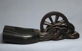 木彫墨壺(11)   江戸時代