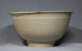 李朝白磁茶碗   李朝時代初期  15~16世紀