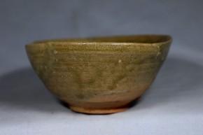 青唐津茶碗(2) 掘りの手  桃山時代
